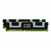 DDR2 16Go PC2-5300 667Mhz ECC Fully Buffered CL5 DIMM Dual Rank x4 Dual kit (KVR667D2D4F5K2/16G)