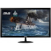 "Monitor Gaming LED ASUS 27"" VX278Q, Full HD (1920 x 1080), VGA, HDMI, DisplayPort, 1 ms GTG, Boxe, Low Blue Light, Flicker Free, TUV certified (Negru) + Set curatare Serioux SRXA-CLN150CL, pentru ecrane LCD, 150 ml + Cartela SIM Orange PrePay, 5 euro cred"