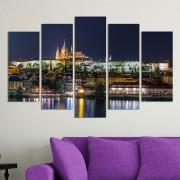 Декоративни панели за стена с нощен изглед от Прага Vivid Home