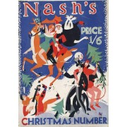 Nash's Magazine, Vol. Lxxxii, N° 427, Dec. 1928 (Contents: Christmas Number. Cover By Charles Paine. 8 Short Stories: The Fan Dancer A Story Of Sacrifice [Illustrated By W. E. Heitland]. ...