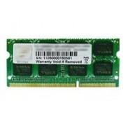G.Skill F3-1600C10S-8GSQ Memoria Principale 8GB / 1600MHz / CL10 / DDR3-RAM