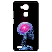 Coque Huawei Ascend Mate7 Monarch Squelette 3d Cerveau