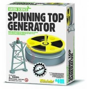 Toysmith 4M Green Science Spinning Top Generator