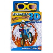 MindWare - Extreme Dot to Dot 3-D Astounding Feats - Puzzles Range from 250 to over 800 Dots - Features Images and Pictures From Around the World by MindWare