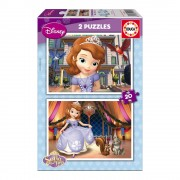 Educa Disney Szófia hercegnő puzzle, 2x20 darabos