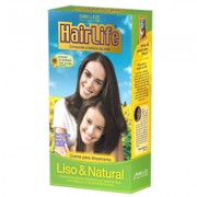 Creme Alisante HairLife Liso e Natural 180g - Embelleze