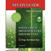 Study Guide: What Great Principals Do Differently by Beth Whitaker