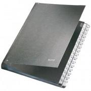 Előrendező, A4, 1-31, karton, LEITZ, fekete