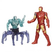 Marvel Avengers Age of Ultron Iron Man Mark 43 Vs. Sub-Ultron 001 Figure Pack