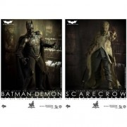 Hot Toys Batman Begins 10th Anniversary Exclusive Movie Masterpiece Deluxe Collectors 1/6 Scale Action Figure 2Pack Batman Demon Scarecrow by Hot Toys