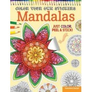Color Your Own Stickers Mandalas: Book 8 by Valentina Harper