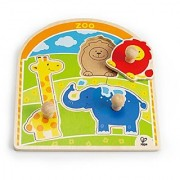 Hape - At The Zoo Wooden Knob Puzzle