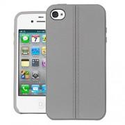 MOFI iPhone 4s Liquid Armor Capsule Shock Proof Case Back Cover For Apple iPhone 4s - Grey
