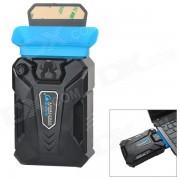 CoolCold Ice Troll III USB Powered Air Draft Heat Sinking Fan - Black