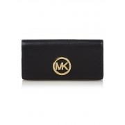 Michael Kors Fulton portemonnee van leer
