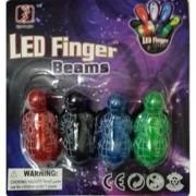 Spider Finger Lights - 48 Bright LED Light Up Finger Lights for Raves or Parties