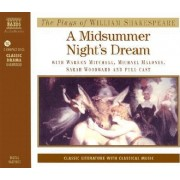 A Midsummer Night's Dream: Performed by Warren Mitchell & Cast by William Shakespeare