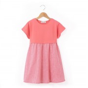 La Redoute Collections Kurzärmeliges Kleid, gestreift, 3-12 Jahre