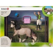 Figurina Schleich Horse Care Set Andalusian