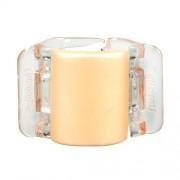Linziclip Midi Hair Clip Haargummis für Frauen Haarklammer Farbton - Linen Pearl Translucent