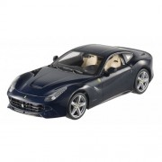 Hotwheels Heritage - Modellino Ferrari F12 Berlinetta in scala 1:18, colore: Blu