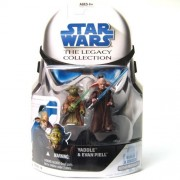 Star Wars Clone Wars Legacy Collection Build-A-Droid Factory Action Figure BD No. 19 Yaddle and Piel