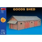 MINIART 1: 72 échelle marchandises Shed Kit (Multicolore)