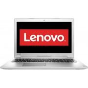 "Laptop Lenovo IdeaPad 510-15 (Procesor Intel® Core™ i7-7500U (4M Cache, up to 3.50 GHz), Kaby Lake, 15.6""FHD, 8GB, 1TB, nVidia GeForce 940MX@4GB, Wireless AC, Tastatura iluminata, Argintiu)"
