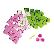 Brick Picks Lego Bundle: Friends Lego 2x2 Bricks With Flowers And Wand (50 Pieces)