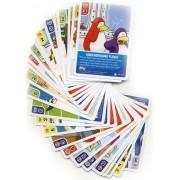 Topps Club Penguin Trading Card Game Lot Of 25 Random Single Cards Plus 1 Bonus Foil Power Card! (Total Of 26 Cards!)