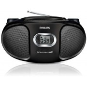 Micro Sistem Philips AZ305, CD/MP3 Player (Negru)