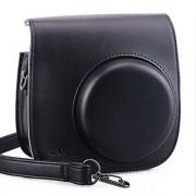 [Fujifilm Instax Mini 8 Case] - CAIUL Comprehensive Protection Instax Mini 8 Camera Case Bag With Soft PU Leather Materi