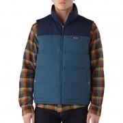 Patagonia Reversible Bivy Down Vest Men Glass Blue XL Daunenwesten