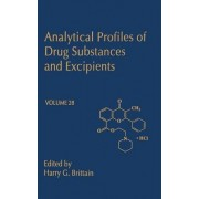 Analytical Profiles of Drug Substances and Excipients by Harry G. Brittain