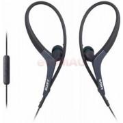 Casti cu fir Sony MDR-AS400iP pentru iPhone (Negre)