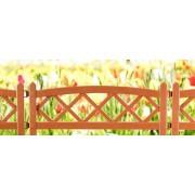 Gard decorativ pentru gradina-Caramiziu