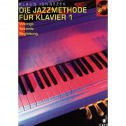 Schott-Verlag - Die Jazzmethode für Klavier 1 Klaus Ignatzek, Buch und CD