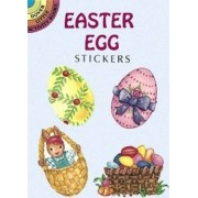 Easter Egg Stickers by Jennifer King