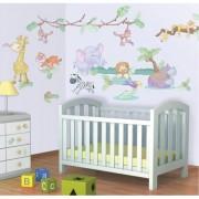 Walltastic Kit Decor Baby Jungle Safari wlt_41059