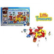 The Transformable Robot - Track Series 660-190 - 5 whimsical robots that turn into cars and then back into robots to the