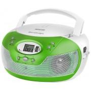 Micro Sitem Sencor SPT 229, CD/MP3 Player, Radio AM/FM (Alb/Verde)