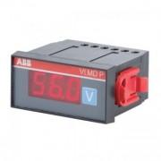 Voltmetru digital AC/DC 300/500V incastrabil VLMD P ABB