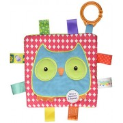 """Mary Meyer """"Taggies Crinkle Me Owl'Toy"""