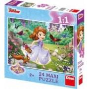 Puzzle de podea - Sofia in parc 24 piese
