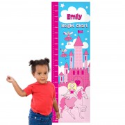 Personalised Height Chart - Princess Height Chart