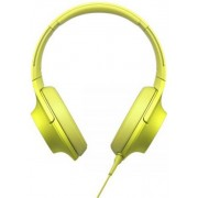 Casti Stereo Sony MDR-100AAPY (Galben)