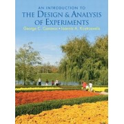 Introduction to the Design and Analysis of Experiments by George C. Canavos