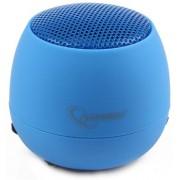 Boxa portabila Gembird albastra pentru iPod, MP3 player, telefon, laptop