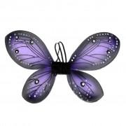 Girls Blue Butterly Wings