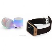 ZEMINI Music Mini Bluetooth Speaker(S10 Speaker) And DZ09 Smart Watch for GIONEE ELIFE E5
